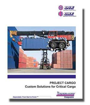 DHX - Dependable Hawaiian Express Project Cargo U.S.-size Brochure